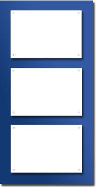 Support plexiglass fumé