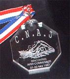 médaille plexi
