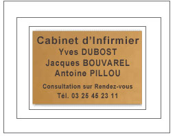 plaque  1200 cm2