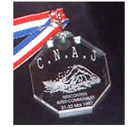 Médaille octogonale