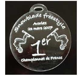 Médaille Ronde