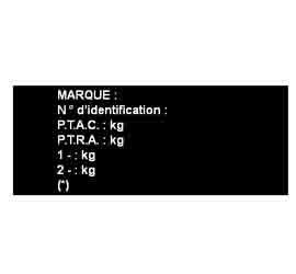 Plaque Aluminium anodisé 10 x 7cm ou surface de 50 à 70 cm²