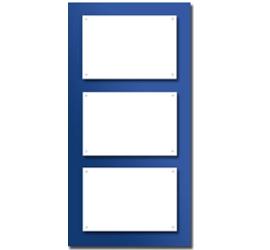 Support plexi couleurs<br>pour 3 plaques 30x20