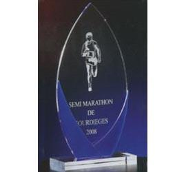 Trophée Transparent ''luxe'' 109-13