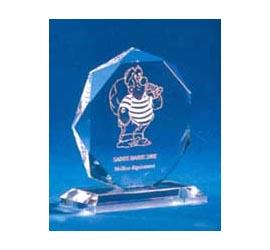Trophée plexiglass Transparent ''luxe'' 117-41
