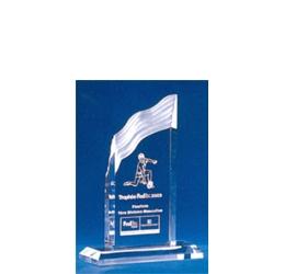 Trophée plexiglass Transparent ''luxe'' 119-51