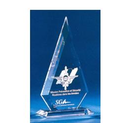 Trophée Transparent ''luxe'' 120-02