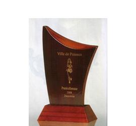 Trophée imitation Acajou ''luxe'' 127-31