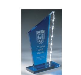 Trophée Transparent ''luxe'' 158-32