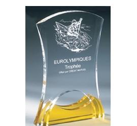 Trophée Transparent ''luxe'' 161-02