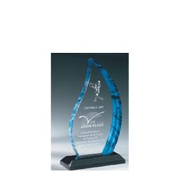 Trophée Transparent ''luxe'' 163-01