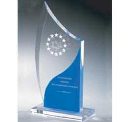 Trophée Transparent ''luxe'' 159-33